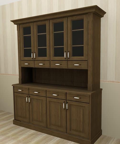 Muebles decorativos y chineros en cambre vangarda for Modelos de muebles de madera
