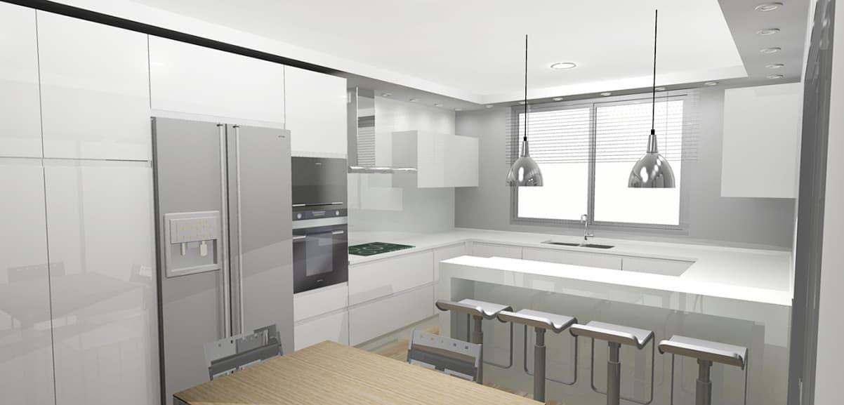Cocinas estilo moderno vangarda en cambre for Cocinas estilo moderno