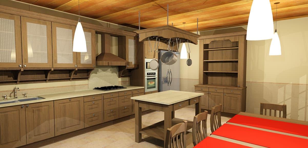 Cocinas estilo r stico vangarda en cambre - Cocinas estilo rustico ...